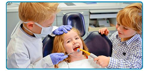 Cuando ir al dentista es cosa de niños