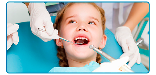 Revisión dental a los pequeños de la casa